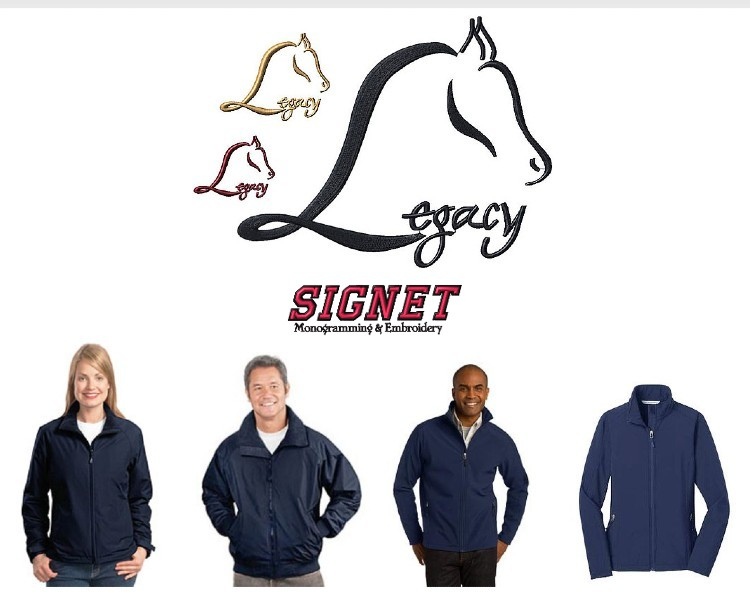 New Legacy Stables Custom Clothing!
